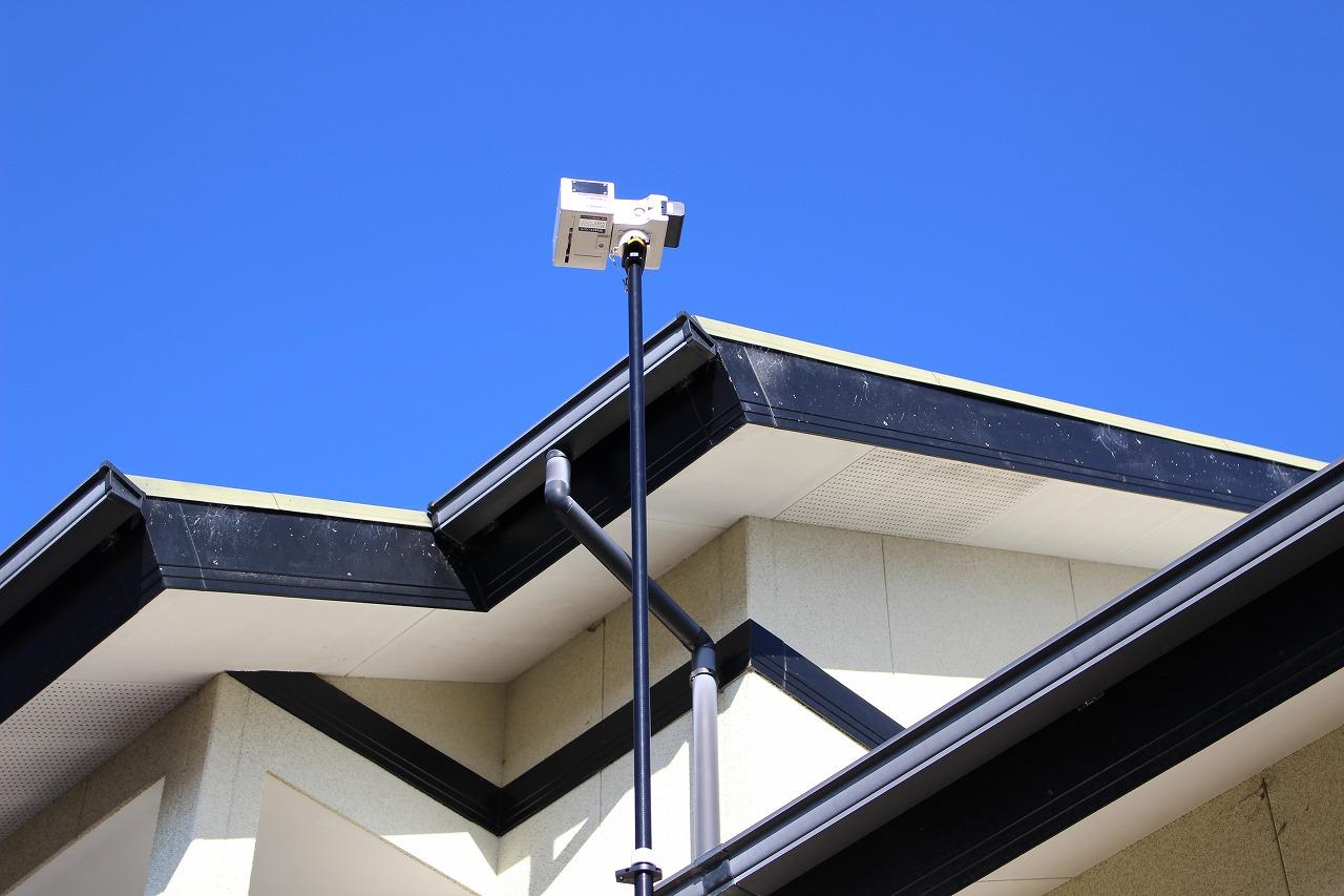 高所カメラ機材の写真